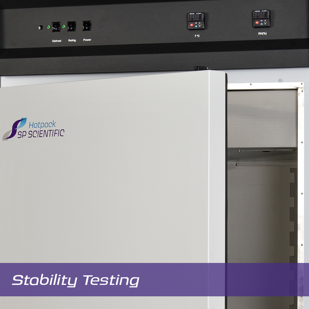 Image:  Scientific Products Hotpack Stability Testing