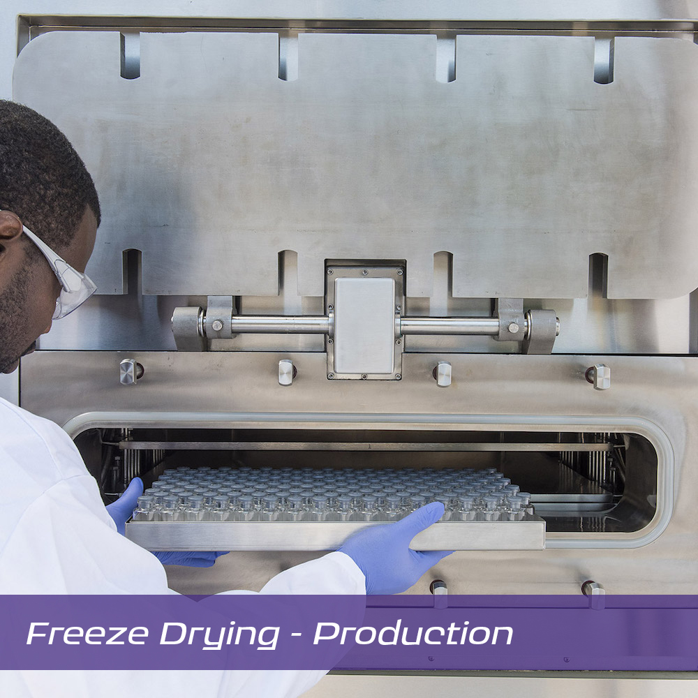 Image:  Scientific Products Hull Freeze Drying Production